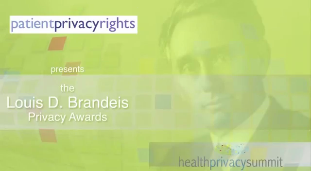 Brandeis Privacy Award – Patient Privacy Rights